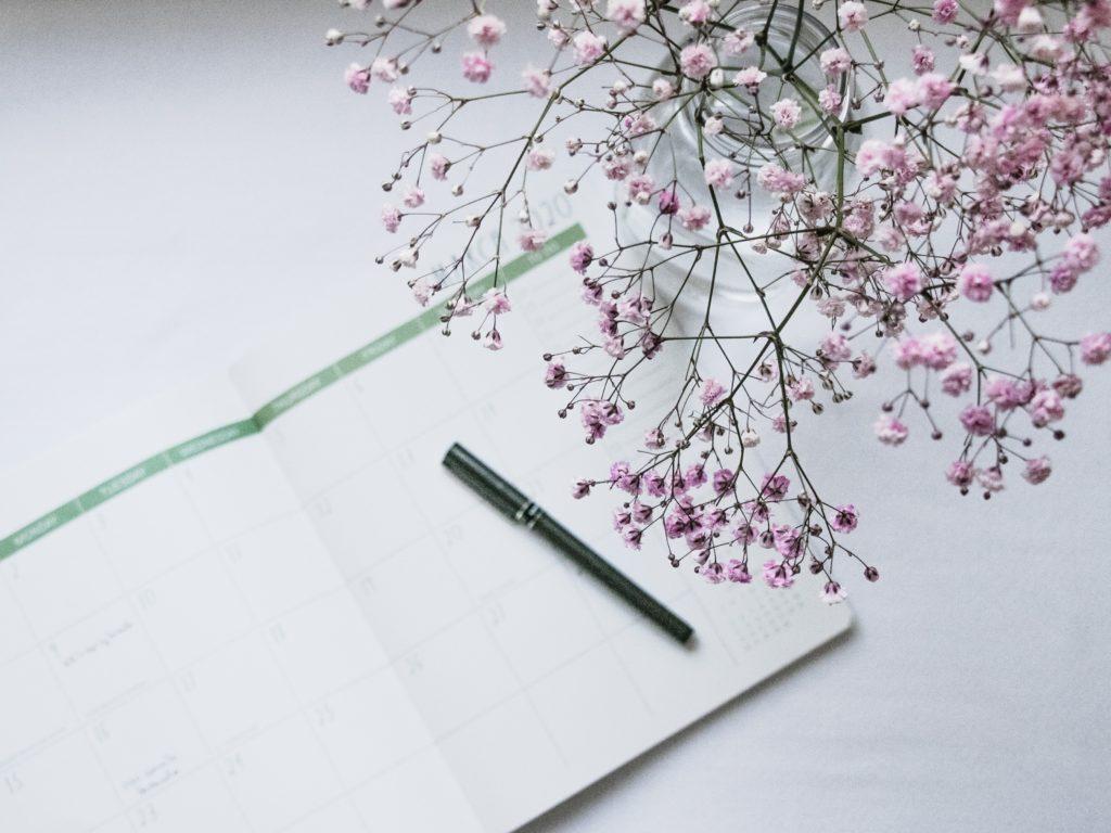 notebook blossom